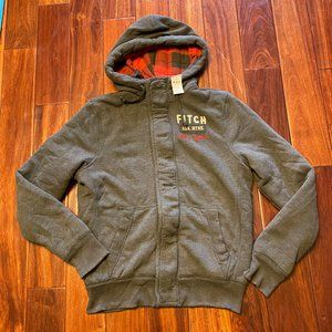 Abercrombie & Fitch men Hoodie jacket size Large